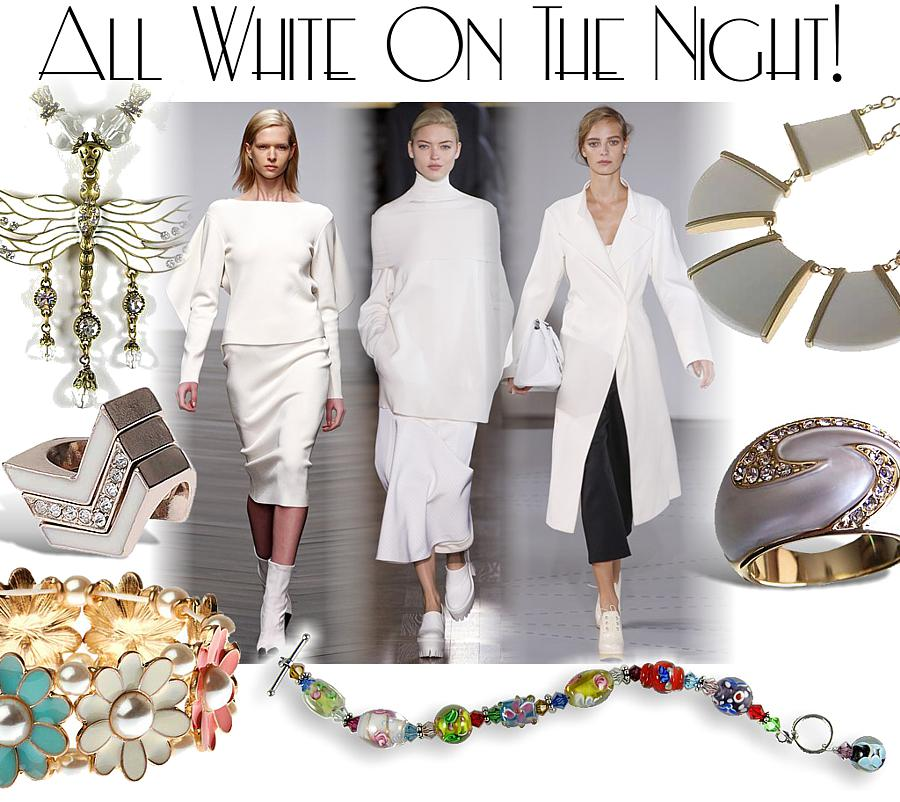All White on the Night!