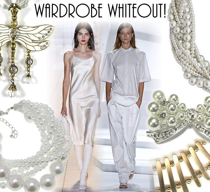 A Wardrobe Whiteout!