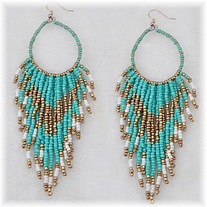 Boho Bead Earrings