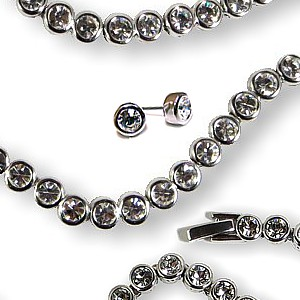 Swarovski Crystal Tennis Jewellery