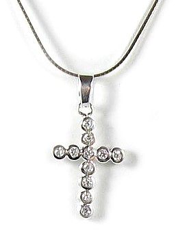Caravaggio Cross Necklace