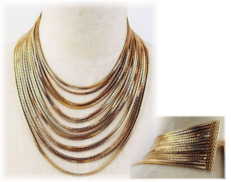 Charismatic Gold Necklace
