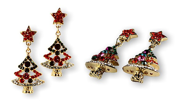 Christmas Tannenbaum Earrings