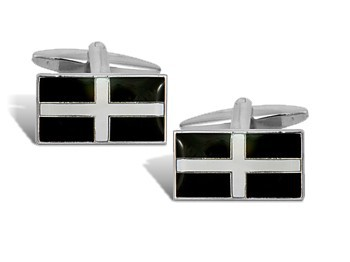 St Piran (Cornish) Cufflinks