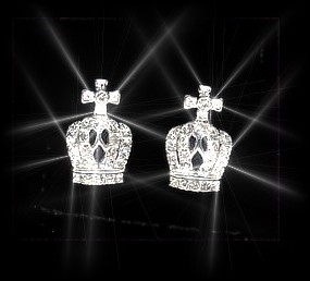 The Crown Jewel Ear Studs