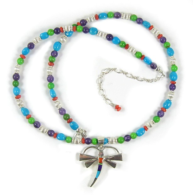 Damselfly Necklace
