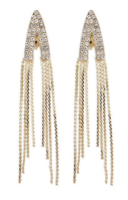 Deco Chic Clip Earrings