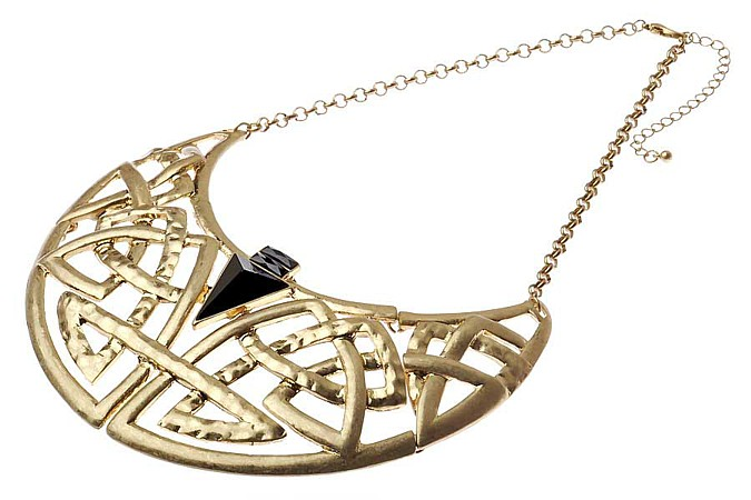 Golden Arrow Necklace