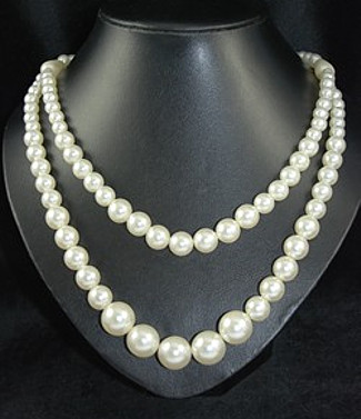 Ivory Pearl Duo Necklace
