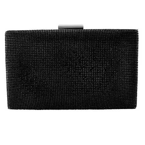 Mini Jet Crystal Clutch Bag
