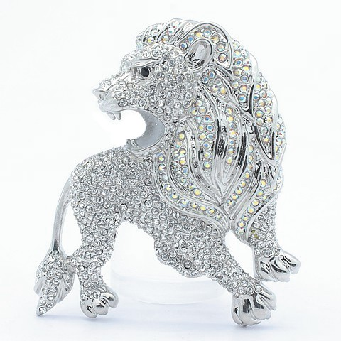 Lion King Brooch in ab