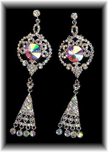 Silver Majestica Earrings