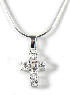 Michaelangelo Cross Necklace