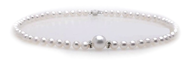 Pearl Snowball Necklace