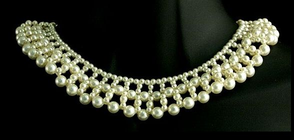 Pearly Queen Collar