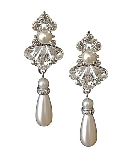 Pompadour Earrings