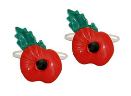 Poppies Cuff Links