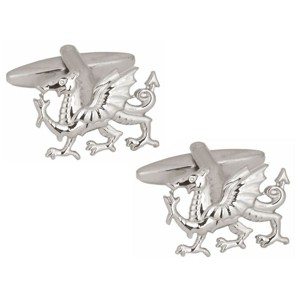 Silver Dragon Cufflinks