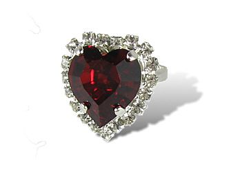 Ruby Valentine Ring
