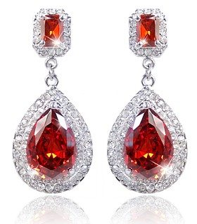 Scarlet Desire Earrings