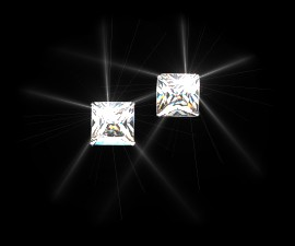Square Wear Earrings