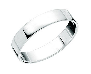 Elegance Sterling Silver Band