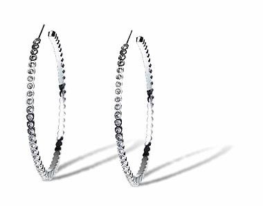 Silver Super Hoops