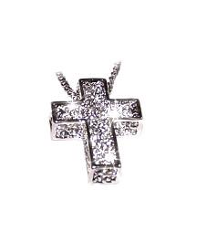 Swarovski crystal 3d cross pendant crosses swarovski crystal 3d cross pendant aloadofball Choice Image