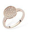 Pave Rose Stacker Ring