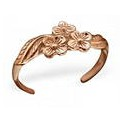 Rose Gold Flowers Toering