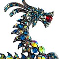 The Blue Dragon Brooch