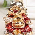 The Happy Buddha Keyring Charm