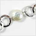 Button Pearl Chanelinks Bracelet