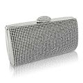 Convex Crystal Clutch Bag