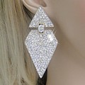 Deco Diamond Earrings