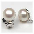 Freshwater Natural Pearl Clip Earrings