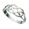 Celtic Love Knot Band