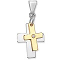 Cross Duo Pendant