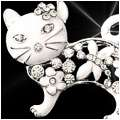 Phat Cat Brooch
