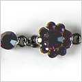 Purple Passionflower Bracelet