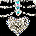 Rhinestone Hearts & Swags Set