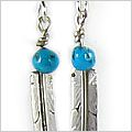 Sante Fe Feather Earrings