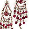 Seeing Red Earrings