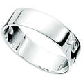 Finesse Sterling Silver Band