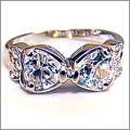 Swarovski Crystal Bow Ring