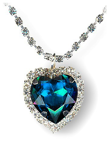 Titanic Heart of the Ocean Necklace 20089649f15f