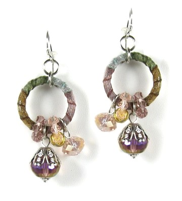 Volga Crystal Earrings