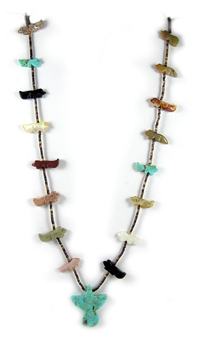 Zuni Thunderbird Necklace