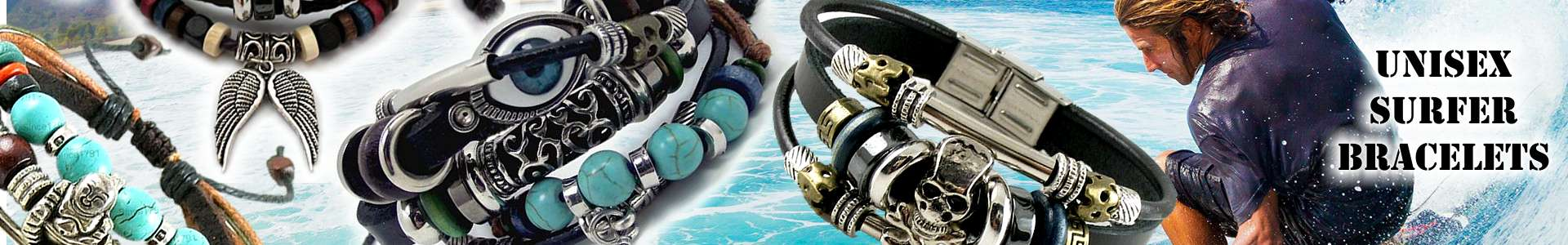 Surfer bracelets for Men