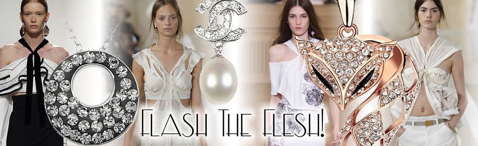 Get the Look - Flash the Flesh